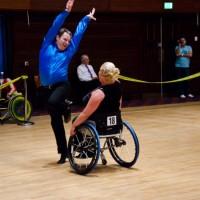 Wheelchair dance in action